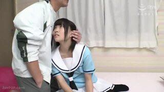 体操着の猫耳JCがおじさん達のオモチャにされちゃう動画