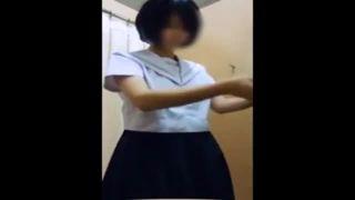 【個人撮影】スクール水着の試着に来たJCを店主が盗撮したビデオが流出