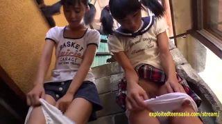 好奇心旺盛な美少女JS2人組を物陰に誘い込んでダブルフェラ | ミニロリ倶楽部